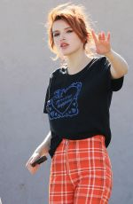 BELLA THORNE Out in Beverly Hills 12/19/2017