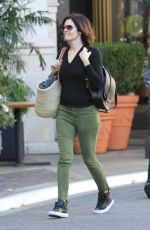 BETSY BRANDT Out Shopping in Hollywood 12/17/2017