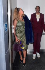 BEYONCE KNOWLES Out and About in New York 12/04/2017