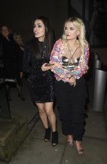 BHAVNA LIMBACHIA and LUCY FALLON at Coronation Street Christmas Party in Manchester 12/08/2017
