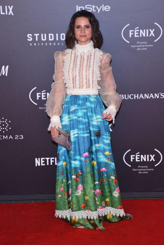 BIANCA COMPARATO at Fenix Film Awards in Mexico City 12/06/2017