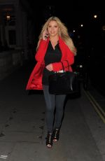 BIANCA GASCOIGNE at Cannaught Hotel in London 12/09/2017
