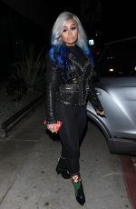 BLAC CHYNA Arrives at Poppy Nightclub in West Hollywood 12/22/2017