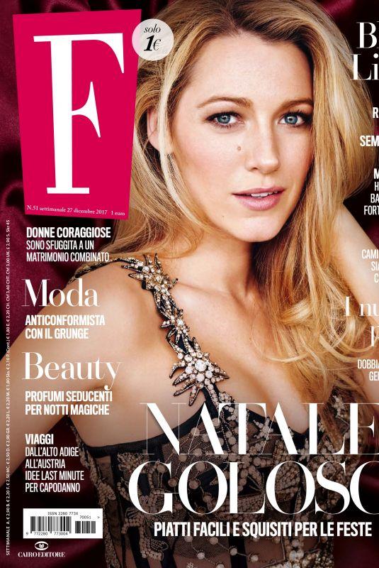 BLAKE LIVELY in F Magazine, December 2017
