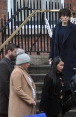 BLAKE LIVELY on the Set of The Rhythm Section in Dublin 12/03/2017