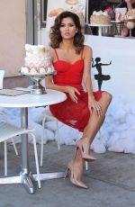 BLANCA BLANCO at Le Mervetty in Beverly Hills 12/05/2017