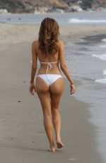 BLANCA BLANCO in Bikini at a Beach in Malibu 12/12/2017