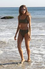 BLANCA BLANCO in Bikini on the Set of a Photoshoot in Malibu 12/07/2017