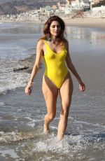 BLANCA BLANCO in Swimsuit at a Beaches in Malibu 12/30/2017