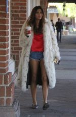 BLANCA BLANCO Out for Morning Coffee in Beverly Hills 12/18/2017