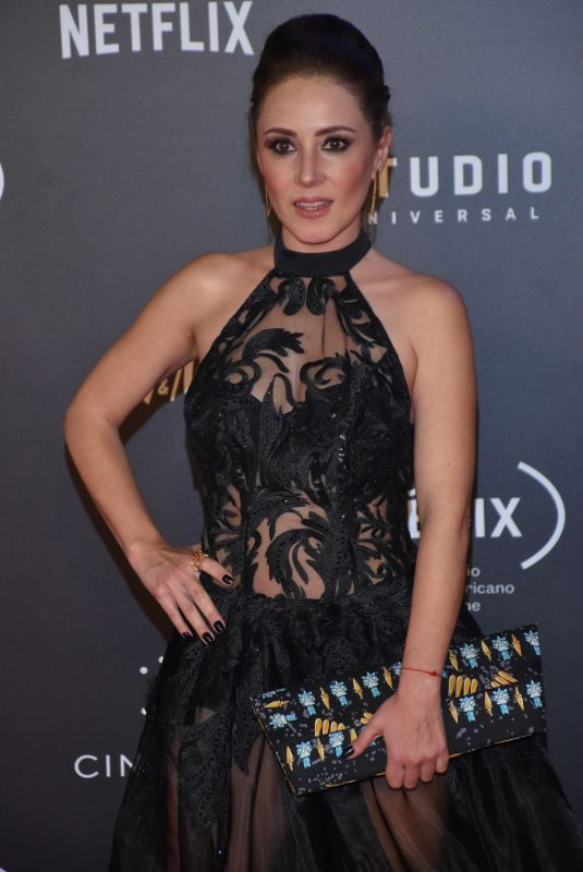 BLANCA SUAREZ at Fenix Film Awards in Mexico City 12/06/2017
