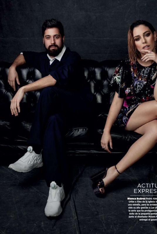 BLANCA SUAREZ in Harper's Bazaar Magazine, Spain January 2018