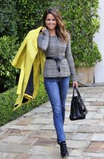 BROOKE BURKE Out and About in Los Angeles 12/21/2017