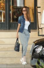BROOKE BURKE Shoping at Barney