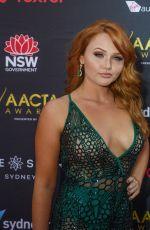 BROOKE NICOLE LEE at 2017 AACTA Awards in Sydney 12/06/2017