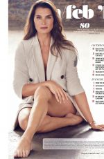 BROOKE SHIELDS in Health Magazine, January 2018 Issue