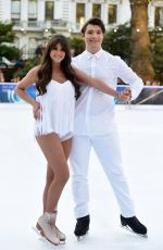 BROOKE VINCENT at Dancing on Ice Photocall in London 12/19/2017