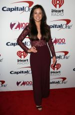 CAILA QUINN at Z100 Jingle Ball in New York 12/08/2017