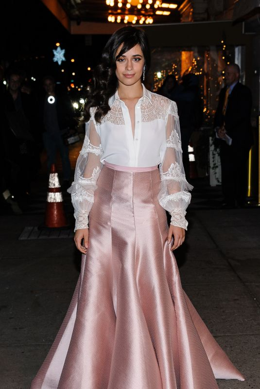 CAMILA CABELLO at L'Oreal Paris Women of Worth Celebration 2017 in New York 12/06/2017