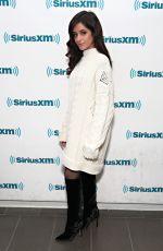CAMILA CABELLO at SiriusXM Studio in New York 12/06/2017