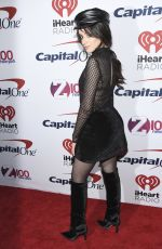 CAMILA CABELLO at Z100 Jingle Ball in New York 12/08/2017