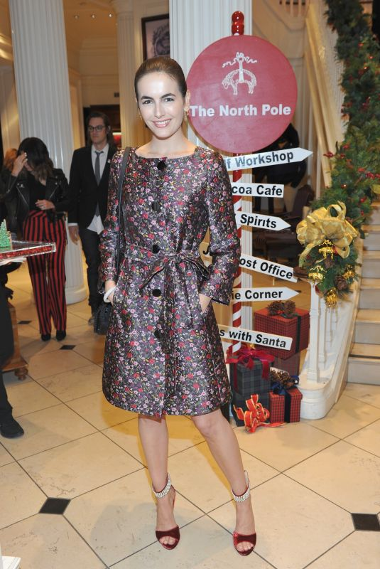 CAMILLA BELLE at Brooks Brothers Holiday Celebration with St Jude Children