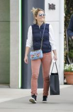 CANDACE CAMERON BURE Shopping at Chanel Store in Los Angeles 12/22/2017
