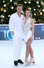 CANDICE BROWN at Dancing on Ice Photocall in London 12/19/2017