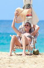 CANDICE SWANEPOEL in Bikini at a Beach at Fernando De Noronha 12/15/2017