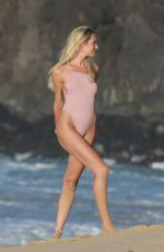CANDICE SWANEPOEL in Swimsuit at a Beach in Fernando De Noronha 12/17/2017