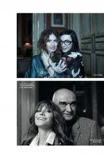 CARLA BRUNI in Elle Magazine, France December 2017 Issue