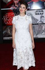 CARLY STEEL at Star Wars: The Last Jedi Premiere in Los Angeles 12/09/2017