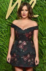CAROLINE FLACK at British Fashion Awards 2017 in London 12/04/2017