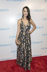 CAROLINE LOVE at Animal Equality Global Action Annual Gala in Los Angeles 12/02/2017