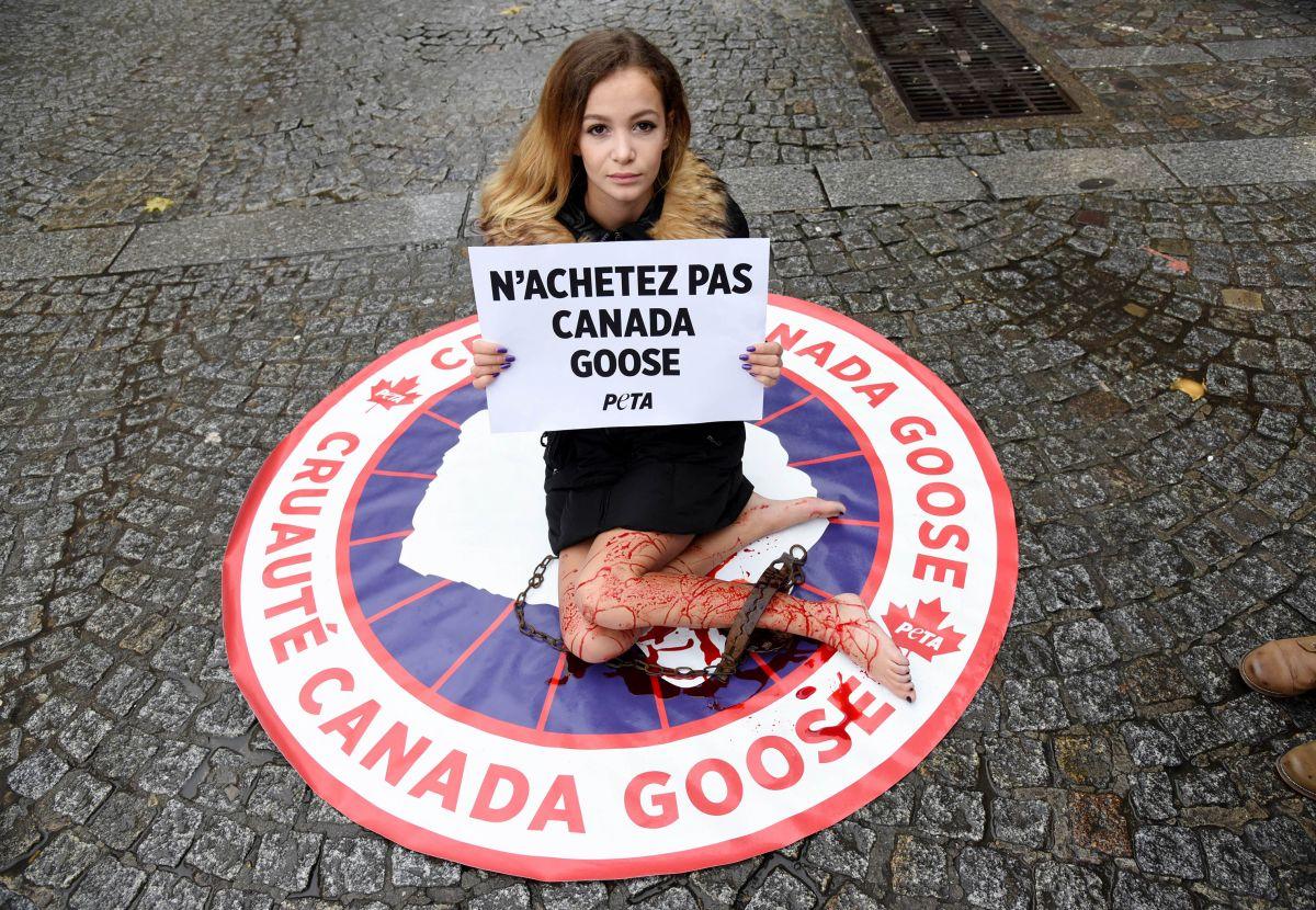 canada goose protest reddit