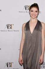 CASSANDRA TRENARY at American Ballet Theatre Holiday Benefit Gala in Los Angeles 12/11/2017