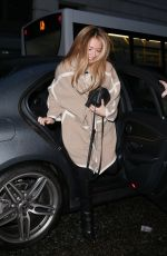 CAT DEELEY Arrives at BBC Broadcasting House in London 12/15/2017