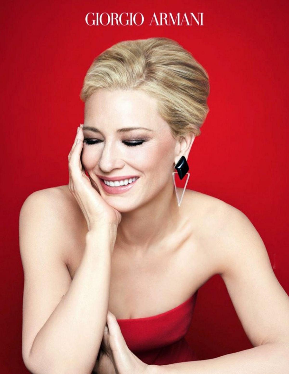 Cate Blanchett For Giorgio Armanis Signature Si Fragrance Hawtcelebs