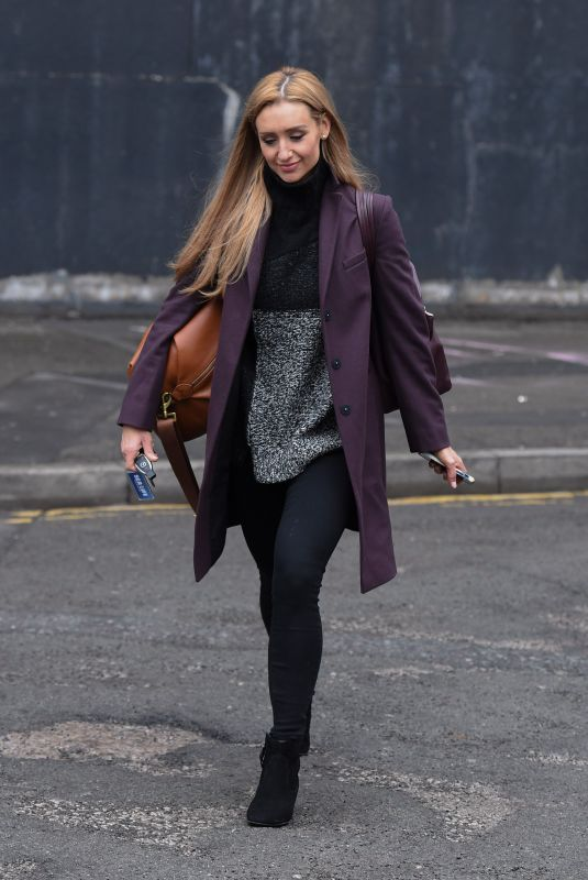 CATHERINE TYLDESLEY Out and About in Manchester 12/19/2017