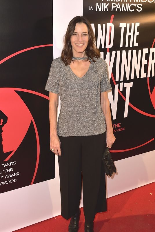 CECILIA PECK at And the Winner Isn't Premiere in Beverly Hills 12/08/2017
