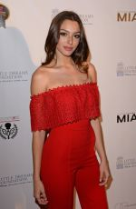 CELINE FARACH at Little Dreams Foundation Gala in Miami 12/09/2017