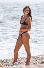 CELINE FARACH in Bikini on the Beach in Miami 12/18/2017
