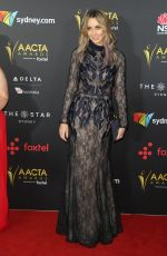CHANELLE HAYES at 2017 AACTA Awards in Sydney 12/06/2017