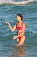 CHANTAL MONAGHAN in Bikini at a Beach in Miami 12/16/2017