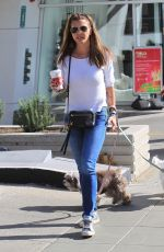 CHARISMA CARPENTER Out for Coffee in Beverly Hills 12/18/2017