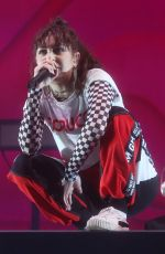 CHARLI XCX Performs at a Concert in Sydney 12/01/2017