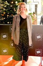 CHARLIE BROOKS at Tric Awards Christmas Lunch in London 12/12/2017