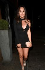 CHARLOTTE CROSBY Night Out in Manchester 12/26/2017