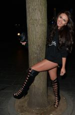 CHARLOTTE DAWSON Night Out in London 12/27/2017