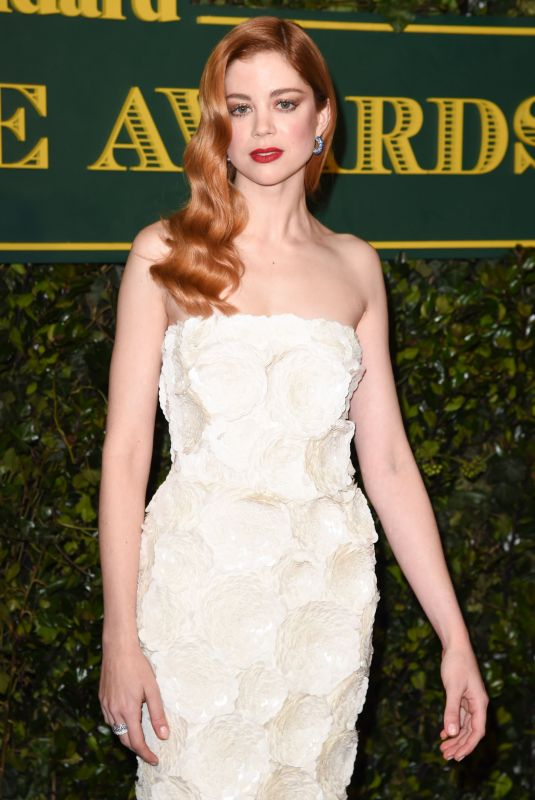 CHARLOTTE HOPE at London Evening Standard Theatre Awards in London 12/03/2017